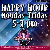 Happy Hour Monday through Friday at Beamers