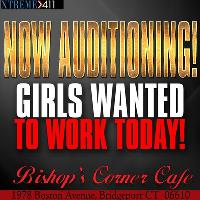 Now Auditioning Entertainers at Bishops in Bridgeport CT