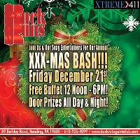 Don't Miss Our XMAS BASH! Always A Hot Event! Awesome Buffet!