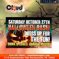 Halloween BASH! @ The Cloud! Come Partake In The Shenanigans!