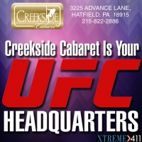 Creekside Cabaret Is Your UFC Headquarters!