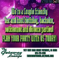 Plan your party TODAY at The Getaway Lounge in PA!