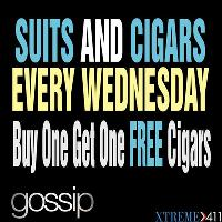 Suits and Cigar Wednesday at Gossip Long Island