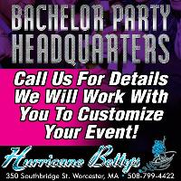 Bachelor Parties Book Today At Hurricane Betty's In Worcester MA!
