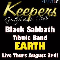 Black Sabbath Tribute Band Earth Live Aug 3rd at Keepers!