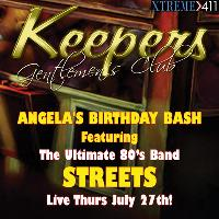 The Ultimate 80's Band STREETS Live July 27th at Keepers In Milford CT!
