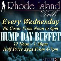 Hump Day Buffet At Rhode Island Dolls!