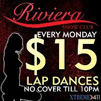 $15 Dances Every Monday At Riviera In Worcester MA!