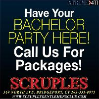 Have your bachelor party at Scruples in Bridgeport CT!