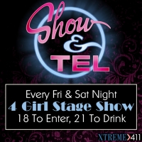 Every Friday & Sat Night 4 Girl Sex Show