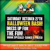 Halloween BASH! @ The Fox! Come Partake In The Shenanigans!
