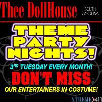 Theme Party Nights at Thee Dollhouse in South Carolina
