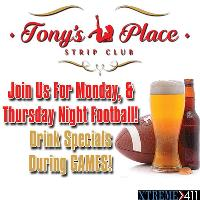 Monday & Thursday Night Football Get Together!