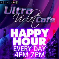Happy Hour 4pm-7pm At Ultra Violet In CT!