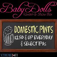 We Have Daily Drinks Specials & Happy Hour!